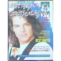 Revista Noticas Misicales ,ricki Martin 15 De Mayo 1993