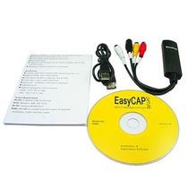 Tarjeta Capturadora Usb Easy Cap Rca 2.0 S-video Rca Dvd