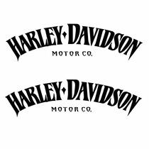 Sticker Motos - Calcomania - Vinil - Logo Harley Vintage