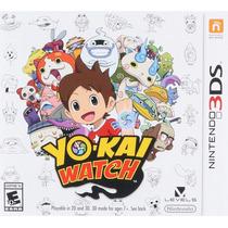 Yo-kai Watch - Nintendo 3ds, New 3ds [físico] *fgk*