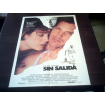 Poster Original No Way Out Sin Salida Kevin Costner Hackman