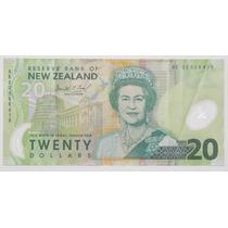 Billete 20 Dólares Nueva Zelanda Polímero