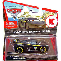 Cars Disney Lewis Hamilton. Rubber Tires.