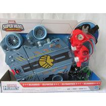 Helitransporte 4 En 1 Playskool Heroes Hasbro Original