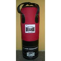 Costal De Lona Para Box Kick Boxin Karate Reyes Delgado