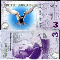 Artico Territorios 3 Dolares 2011 Polimero Vmj