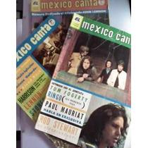 Revista Mexico Canta De Los Años 70s