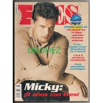 Luis Miguel Thalía Revista Eres Especial 9 Aniversario 1997