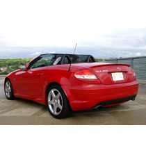 Spoiler Para Cajuela Mercedes Benz Slk 05-11 Marca Effekten