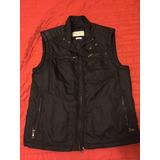 Chaleco Negro Zara Talla 42 (large)