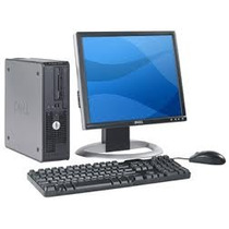 Remate Computadora Dell Gx620 Ht De3.2 Ghz.lcd 17 Mem 2gigas