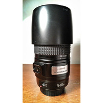 Lente Canon 75-300mm Is Ultrasonic Excelente