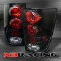 Calaveras Nissan Titan Negras 2004 Hasta 2012 De Lujo