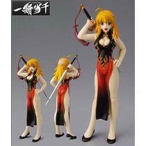 Ikkitousen Battle Vixens Sonsaku Hakufu Vestido Chino