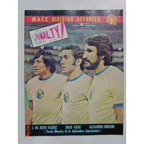 1976 Hugo E. Kiesse Club America Aguilas Revista Penalty