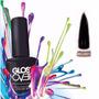 Esmalte Gel Uñas Tipo Gelish Gloss Over Color Negro Magic
