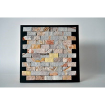 Mallas Decorativas Piedra Arcoiris Natural 30x30cm