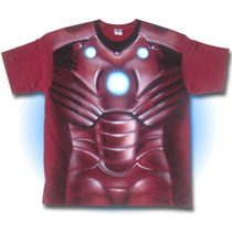 Playera Iron Man Airbrush Phantomasx Fiesta Disfraz Mark Arc