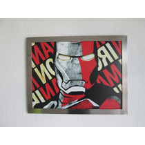 Poster Iron Man, Poster Con Cuadro La Imagen Que Quieras