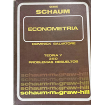 Libro Econometria De La Serie Schaum