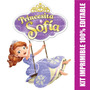 Kit Imprimible 100% Editable Princesita Sofía Powerpoint