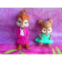 Alvin Y Las Ardillas Figuras De Ardillitas Mcdonalds