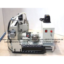 Cnc Mini Router Desktop Cnc Xr-1000, 4 Ejes Cnc