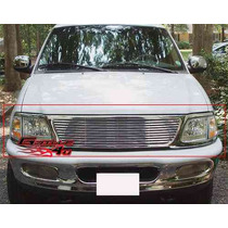Parrilla Cromada Ford Expedition 97 98 99 00 01 02 03 Cromo