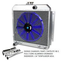 Dodge Charger / Dart / Satélite V8 3 Fila / Core Aluminio Cr