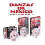 Danzas De Mexico Vol I, 1 Cd+ 1 Dvd + 1 Vol Ed Clase 10
