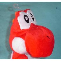 Yoshi Rojo Amigo De Mario Bros Peluche De Nintendo Ds
