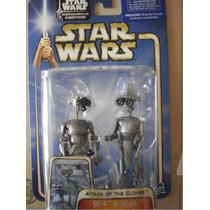 Star Wars / Robots Sp-4 Y Jn-66 Research Droids Attack Clone