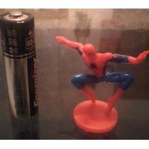 Marvel Figura Spider-man Tipo Huevo Kinder Sorpresa Hm4