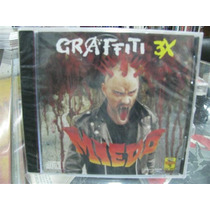 Graffiti 3x Miedo Punk Cd Sellado Mmy