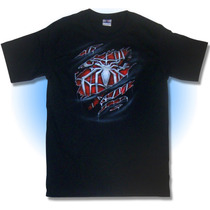 Playera Razgadura Spiderman, Araña Comic, Disfraz, Airbrush