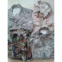 Camisolas Militares Us Army Originales Acu Woodland Desert