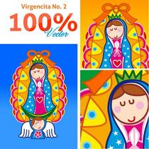 Virgencitas Y Santitos Para Imprimir A Gran Escala Vol. 2
