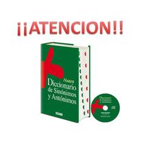 Diccionario Océano De Sinónimos Y Antónimos
