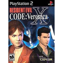 Residen Evil Code Veronica X Ps2