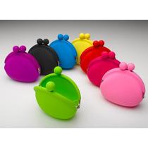 Lote 10 Monedero Pochi Silicona , Varios Colores
