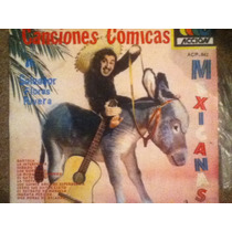 Excelente Disco Acetato De: Salvador Flores Rivera
