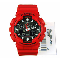 Reloj Casio G-shock Modelo Ga-100b-4a Original Y Nuevo