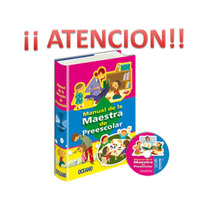 Manual De La Maestra De Preescolar 1 Tomo + 1 Cd