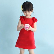 Hermoso Vestido Niña Casual Moda Japonesa