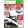 .:: Batman Arkham City ::. Game Of The Year Edition Xbox 360