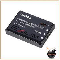 Bateria Np-70 Casio Exilim Zoom Ex-z150 Z150bk Z150gn Z250