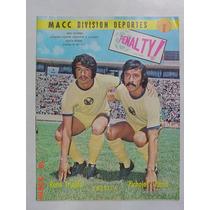 1976 Rene Trujillo Club America Aguilas Revista Penalty