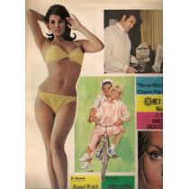 Raquel Welch Lote De 5 Revistas El Sol De 1968-69