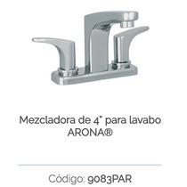 Mezcladora Para Lavabo 4 Urrea 9083par.9 Arona A. Inoxidabl