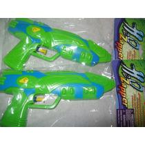 Gcg Lote De 2 Pistolas Lanza Agua Juguete Verde Y Azul Vjr